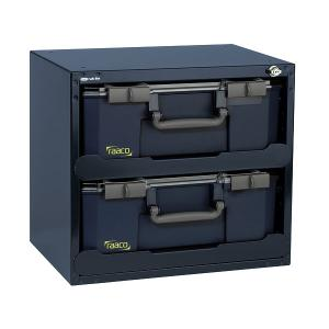 raaco SafeBox 150x2 for 2 x Carrylite 150 Compartment Boxes