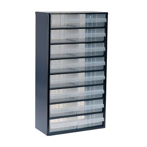 raaco 1200 Series Small Parts Storage Cabinet 1240-123 - 137430